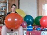 Amateurvideo grosser Spaß - Luftballoons 2 von TittenCindy