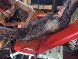 Amateurvideo Sie und die Blondine auf dem Gyn.stuhl von DDPaar0103