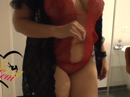 Amateurvideo Wichs mir in die Fresse, Du Sau von SexyLeni