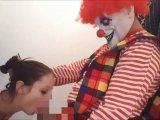 Amateurvideo Brutal...!!! Fieser Horror Clown, benutzt mich als Anales Fi von Fickschnitte18