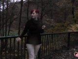 Amateurvideo Rauch und Pinkel Pause von susi191
