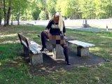 Amateurvideo Public Outdoor Piss und 2 mal Weiber Pisse schlucken! von RosellaExtrem