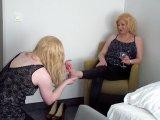 Amateurvideo Feet Worship mit meiner Sissy! von LadyDoro