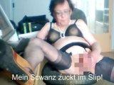 Amateurvideo Mein Schwanz zuckt im Slip! von Schwanzmaedel12