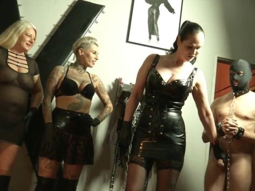 3 Ladies und ein neues Lebendes Klo Teil 1 Mouth Spitting