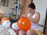 Amateurvideo Balloons - wie geil das quitscht von TittenCindy