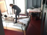 Amateurvideo Hotel room session von BondageMallorca