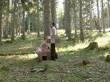 Amateurvideo Jogger im Wald Deepthroat 1 von crazydesire86