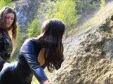 Amateurvideo Outdoorhiebe im Steinbruch von StrengeLadyJ
