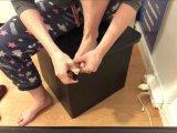 Amateurvideo Fußnägel schneiden von Ero2nite