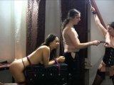 Amateurvideo Trilogie: 2 Sklavinnen bei ihrem Herrn, Teil 2 from StrengeLadyJ