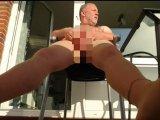 Amateurvideo Feinstrumpfhose in der Ferienwohnung ** Urlaub Wangerland ** von nylonjunge
