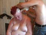 Amateurvideo Nassrasur, auf dem Kopf 3 von crazydesire86