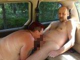 Amateurvideo Blasen im Auto from crazydesire86
