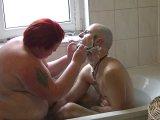 Amateurvideo Kopf, Gesicht und Schwanz Rasiert 4 from crazydesire86