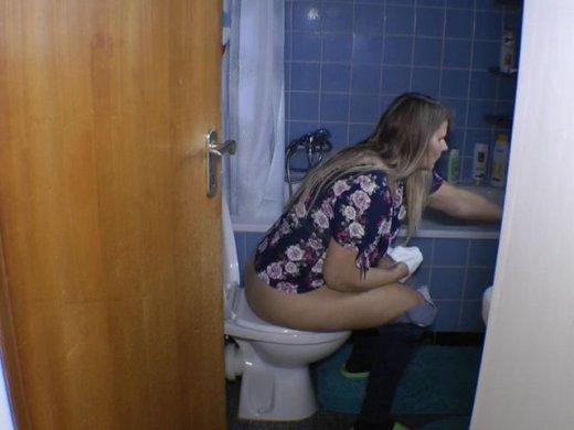 Der bliche Toilettengang