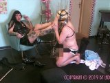Amateurvideo The Fat Sissyslut Part 2 – Foot Domination from LadyVampira