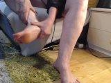 Amateurvideo Beine Eincremen from Animar2226