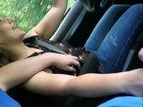 Amateurvideo Entsaftungstour während der Fahrt! Beim Ficken erwischt abe from DaddysLuder