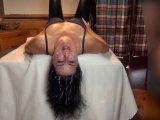 Amateurvideo Lederschlampe in Spermaflut! Die Abwichsparty von Alexandra_Wett