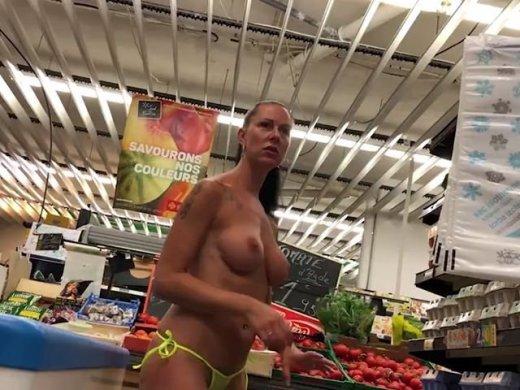Wetten dass Im Supermarkt blank ziehen oder Einkauf zahle